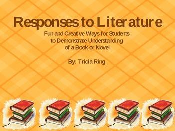 Creative Responses to Literature