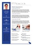 Creative Resume Blue