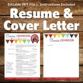 Creative Resume Template - Bunting