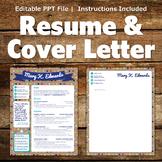 Creative Resume Template - Polka Dot Banner
