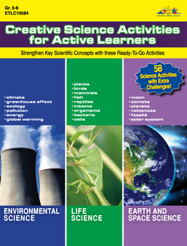 Creative Science Activities for Active Learners