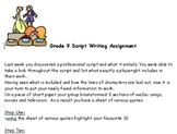 Creative Script Writing in Drama