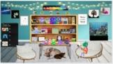 Creative Self Esteem room/3 game boards slides & 5 art/music activity slides