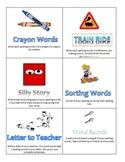Creative Spelling Task Cards