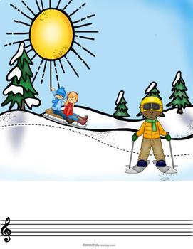 Creative Story Compositions- Fa La La! (Christmas)