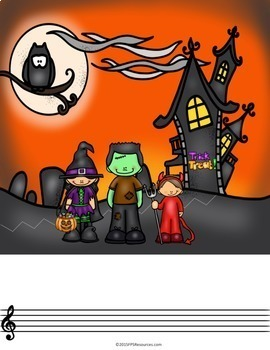 Creative Story Compositions- Trick or Treat!