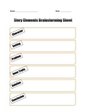 Creative Story Elements Graphic Organizer