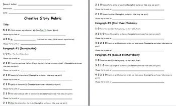 Creative Story Rubric