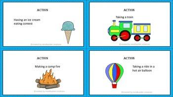 Creative Story Telling Task Cards ~ Freebie