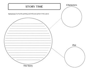 Creative Story Template