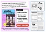 Creative Story Writing (9-14 years)