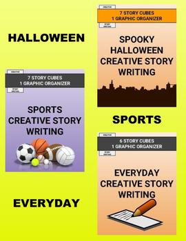 Creative Story Writing Activity Bundle