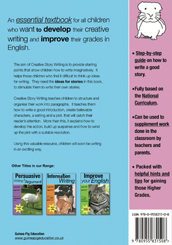 Creative Story Writing (US English Edition) Grades 4-8