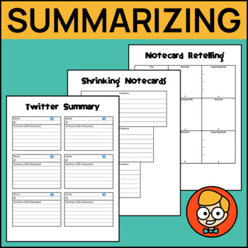 Creative Summarizing Activities