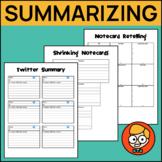 Creative Summarizing Activities