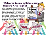 Creative Syllabus Templates for Theatre Teachers!