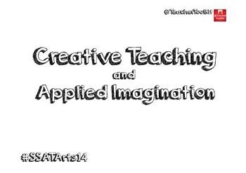 Creative Teaching and Applied Imagination by @TeacherToolkit