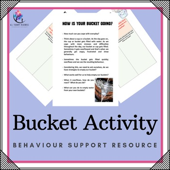 Creative Therapy Activity: Bucket Activity