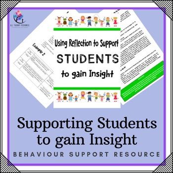 Creative Therapy and Behaviour Support Resource: Looking A