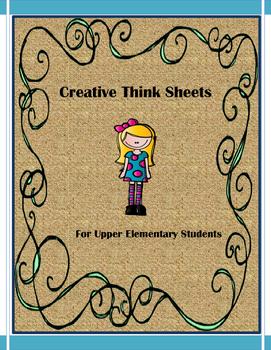 Creative Think Sheets