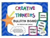 Creative Thinkers Bulletin Board