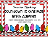 Creative Thinking - 12 Fun Christmas List Activities