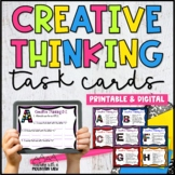 Creative Thinking Task Cards | Distance Learning | Google Classroom