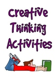 Creative Thinking Activities