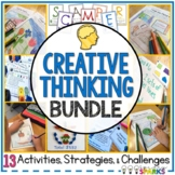 Creative Thinking Activities Bundle