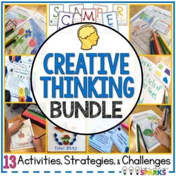 Creative Thinking Activities Bundle
