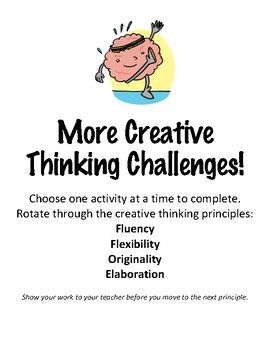 Creative Thinking Challenges