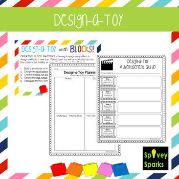 Design-a-Toy with Blocks {Creative Thinking}