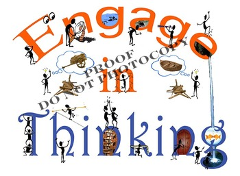 Creative Thinking Discussion Starter Mini-Posters