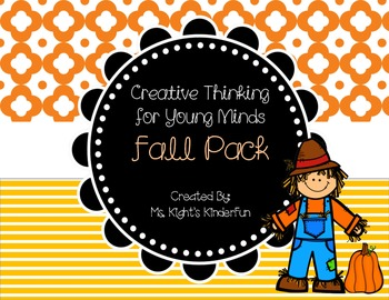 Creative Thinking For Young Minds-Fall Pack