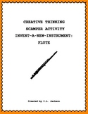 Creative Thinking SCAMPER Activity - Become an Inventor