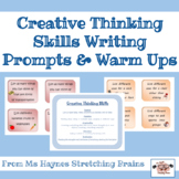 Creative Thinking Skills Writing Prompts