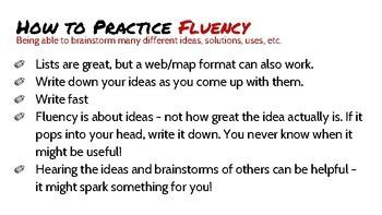 Creative Thinking Strategies Signs