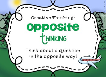Transportation (Creative Thinking)