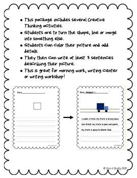 Creative Thinking Writing