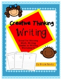 Creative Thinking Writing