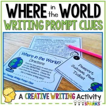 Creative Thinking Writing Task Cards