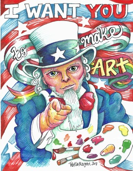 Creative Uncle Sam poster
