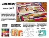Creative Visual for Vocabulary Instruction: Vocabulary Quilt