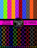 Creative Wallpaper Digital Papers {Creative Clips Digital Clipart}