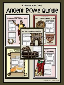 Creative Web Fun: Ancient Rome Bundle