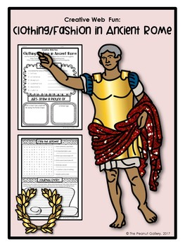 Creative Web Fun: Clothing & Fashion in Ancient Rome
