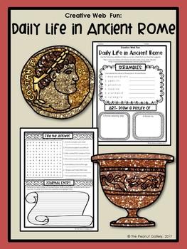 Creative Web Fun: Daily Life in Ancient Rome