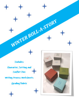 Creative Winter Writing - Roll a Winter Story