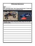Creative Word Prompt with Word Bank {Radio Controlled Models} Get Kids Attention