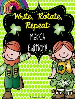 Creative Writing: Write, Rotate, Repeat- March Edition